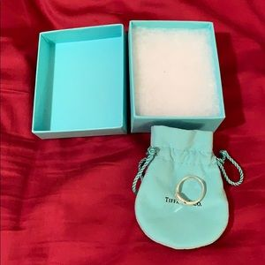Tiffany and Co Elsa Peretti open heart ring 9